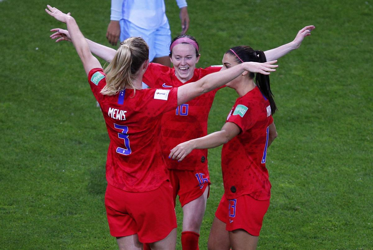 fc60dd4e2d0 Women's World Cup: Ex-Wisconsin Badgers star Rose Lavelle scores 2 ...