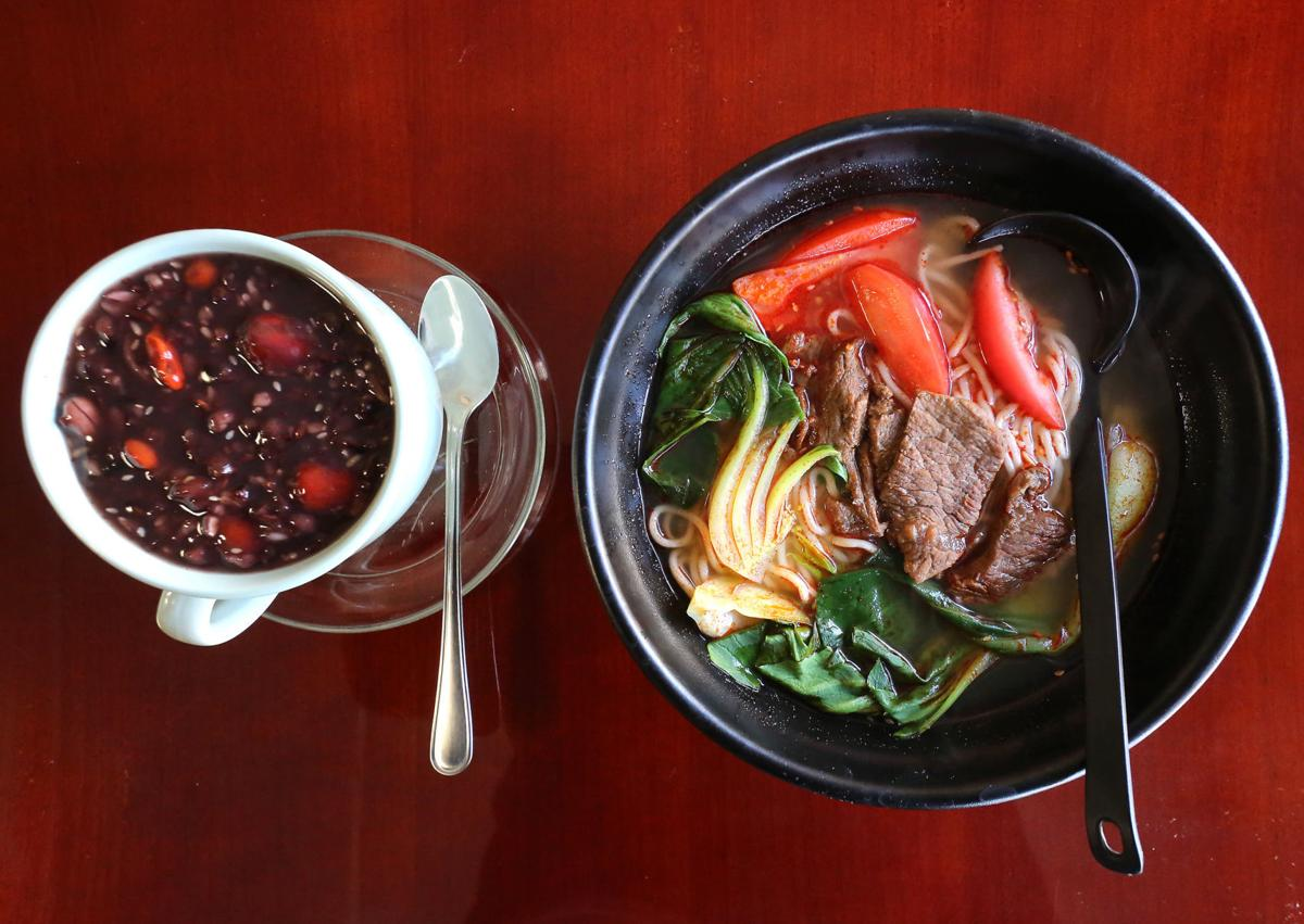 Chen's Dumpling House pudding and soup