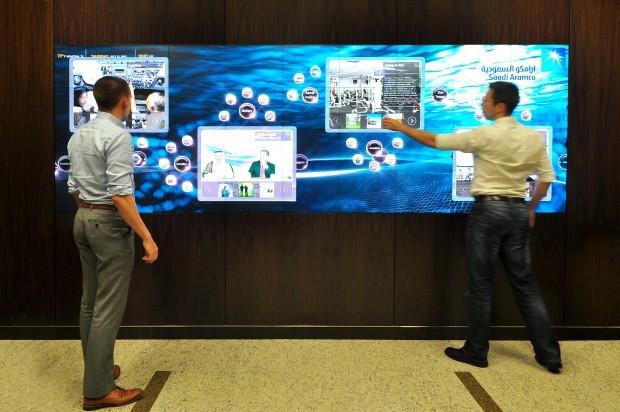 Zebradog interactive display