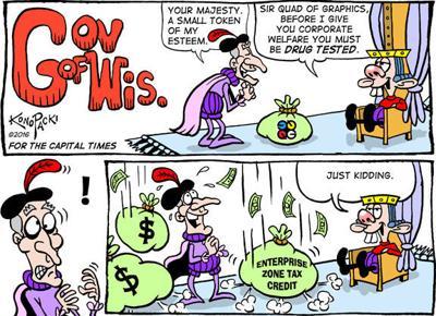Editorial cartoon (8/31/2016)