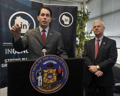 Gov. Scott Walker proposes eliminating lawmakers from WEDC board