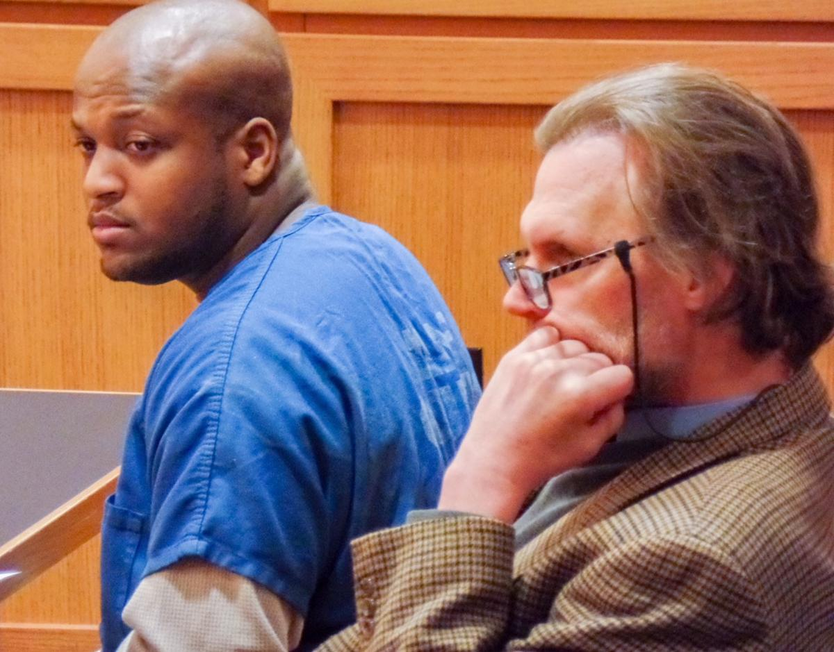 Reginald Patton in court