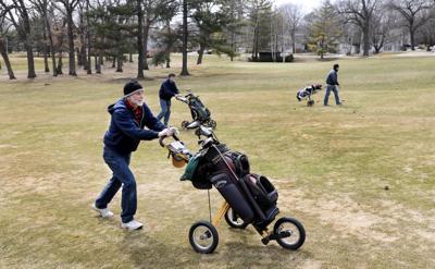 Golf opener