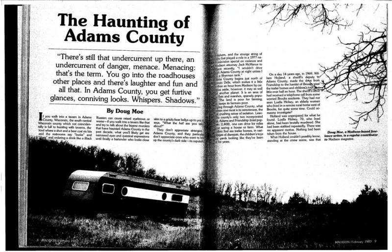 Haunting of Adams County