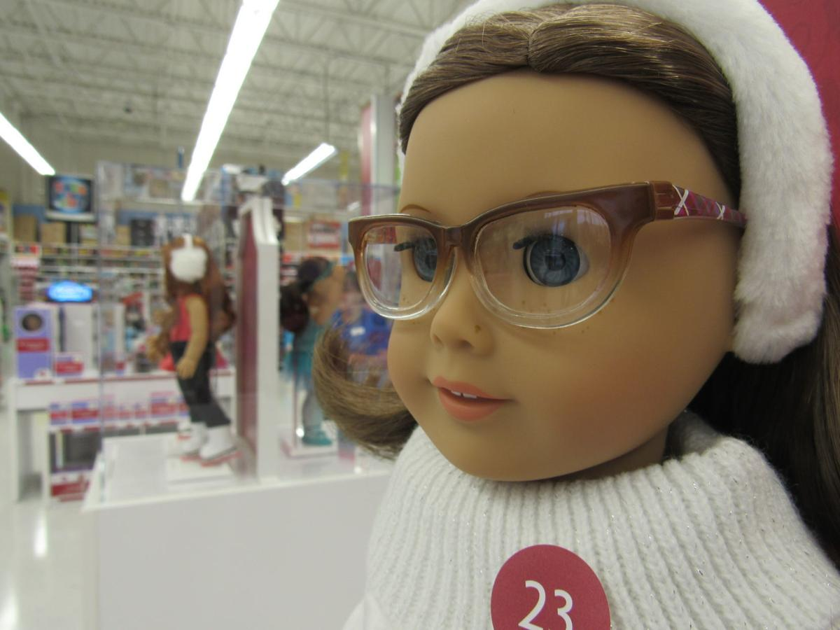 """American Girl at Toys """"R"""" Us"""