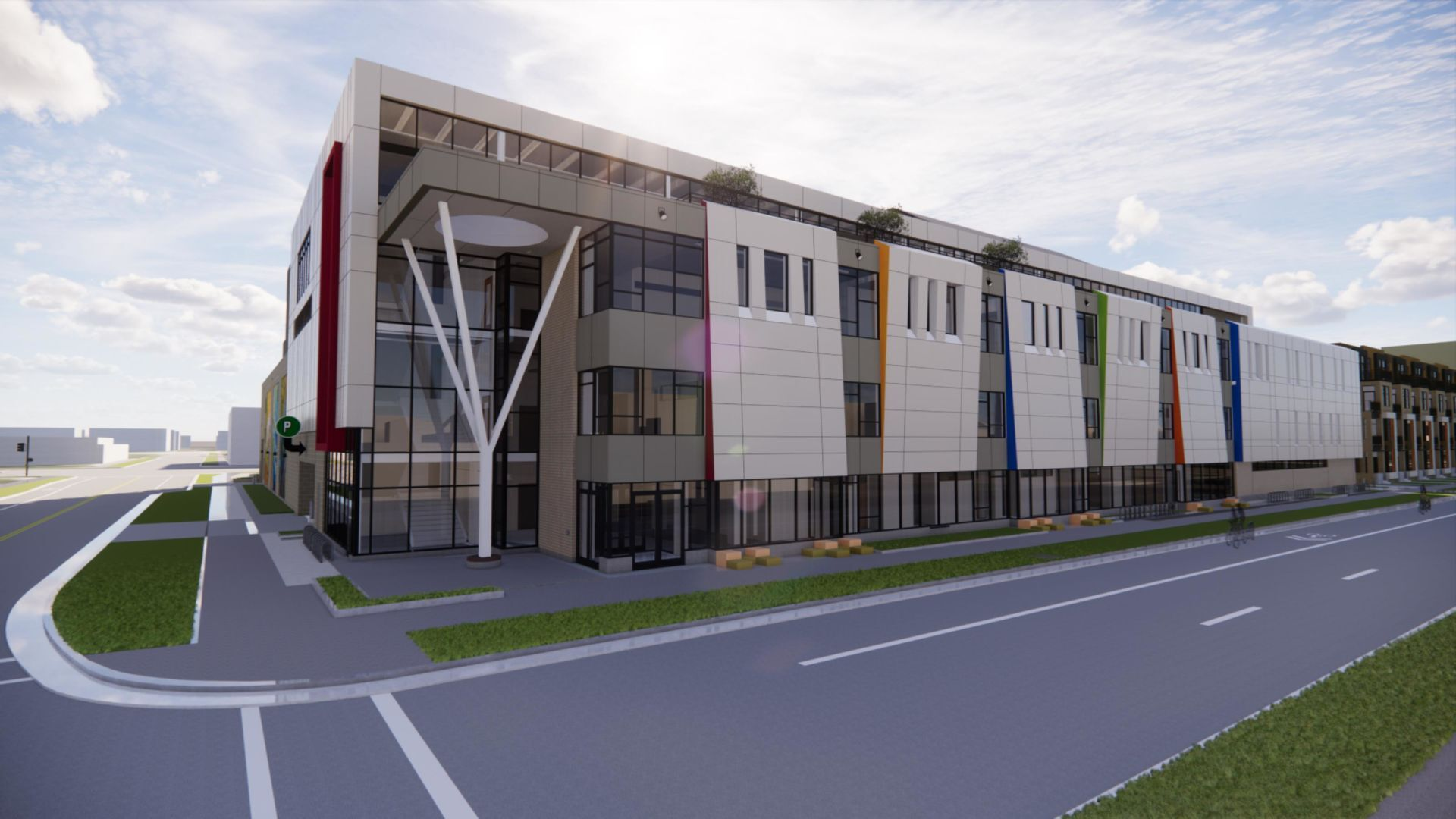 Madison Youth Arts Center - rendering