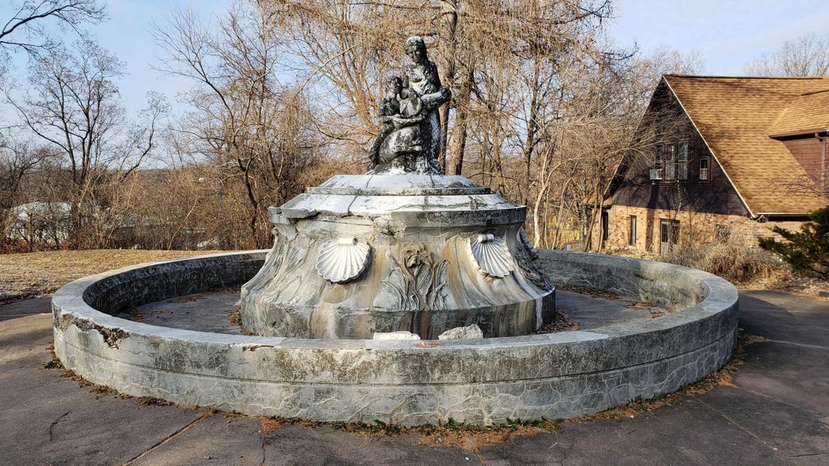 Annie C. Stewart fountain