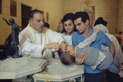 catholic baptism file photo