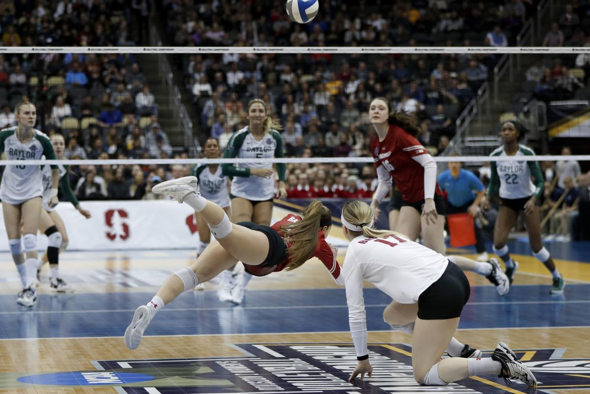 NCAA Wisconsin Baylor Volleyball