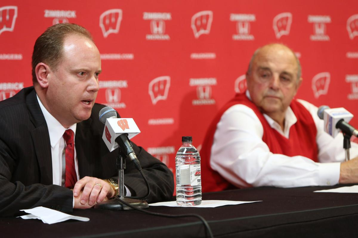 Greg Gard, Barry Alvarez photo