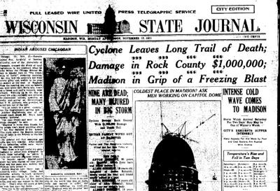 State Journal cover Nov. 13, 1911