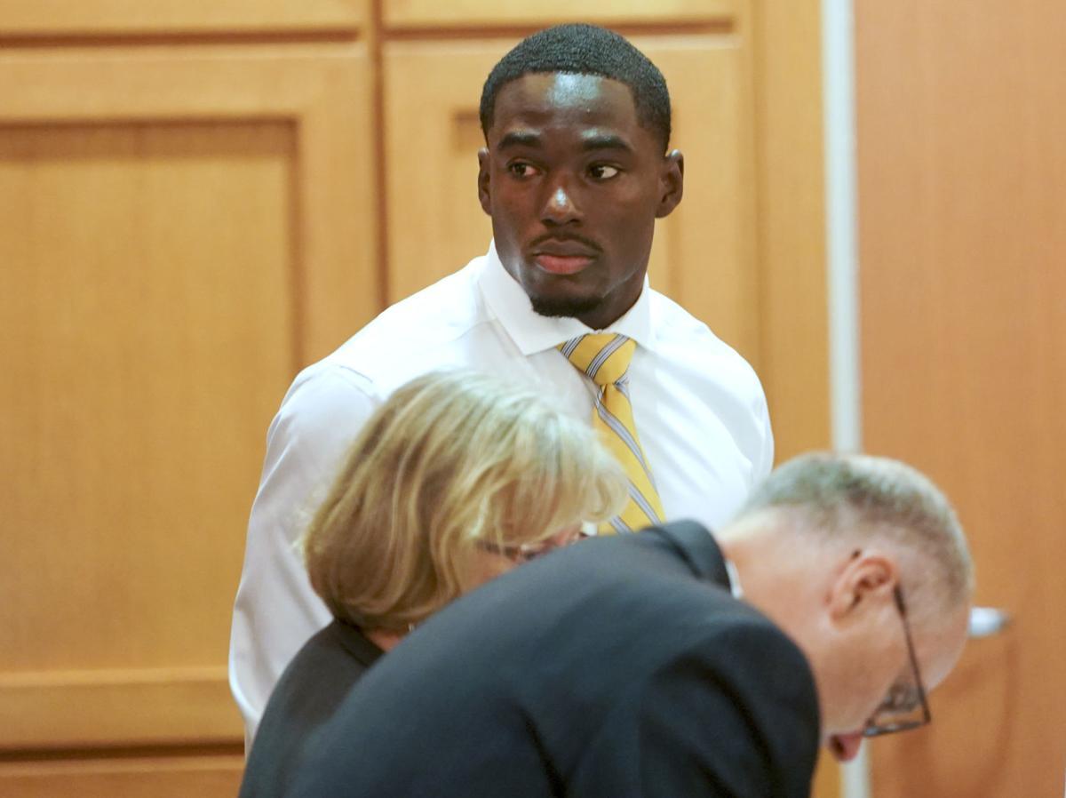 Quintez Cephus in court