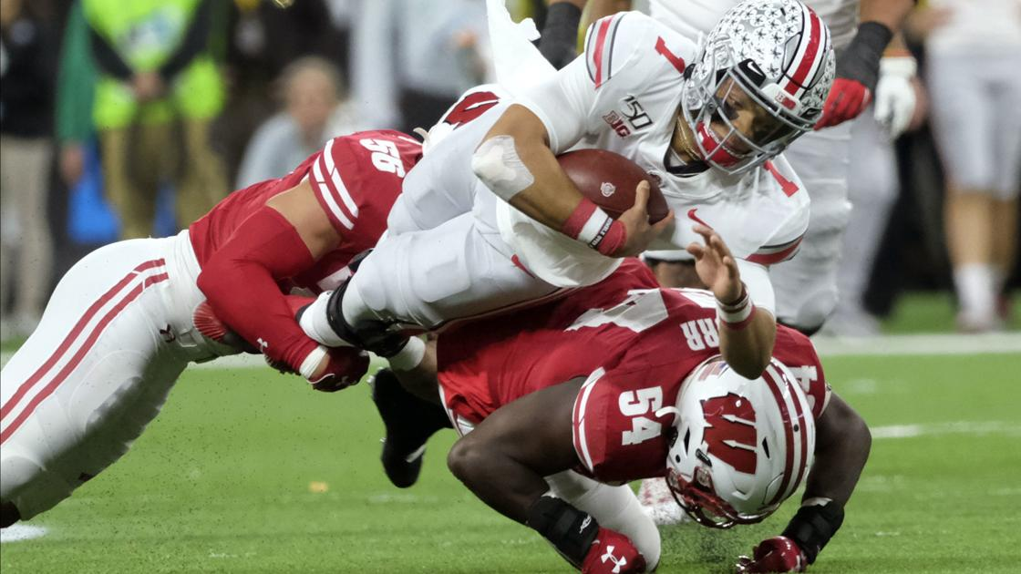 Photos: Wisconsin Badgers can't hang with Ohio State Buckeyes in Big Ten title game