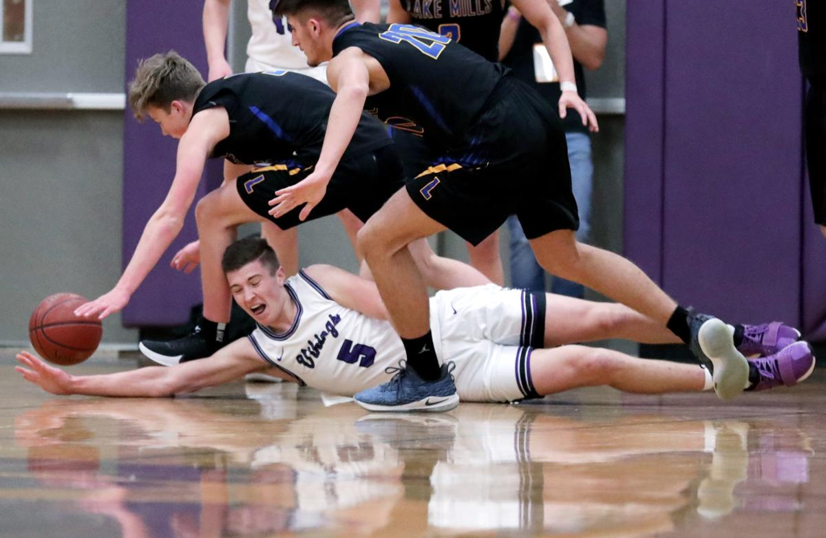 Prep boys basketball photo: Stoughton's Adam Hobson