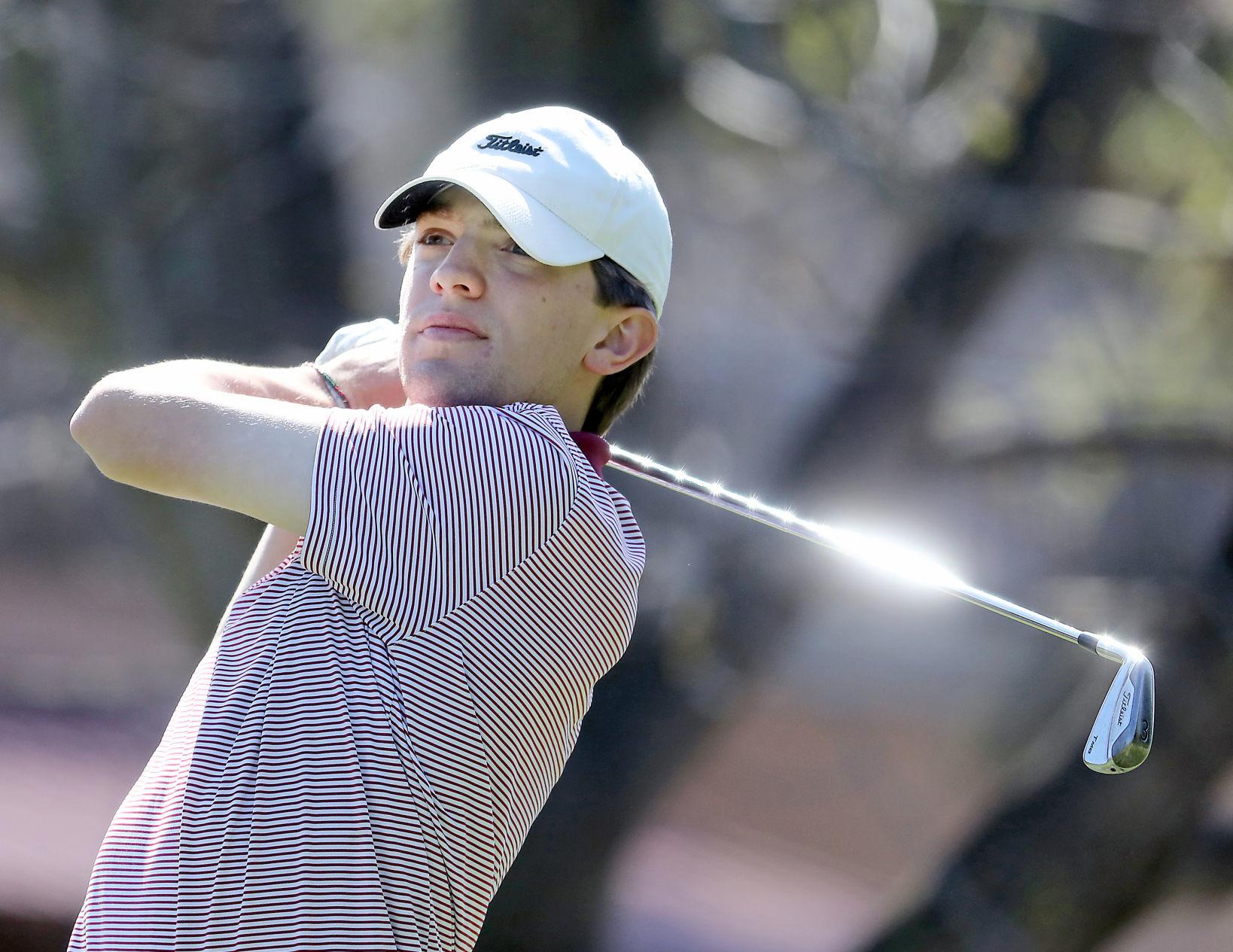 WIAA boys golf photo: Madison Edgewood's James Gilmore