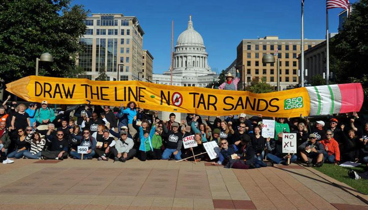 Enbridge pipeline protest