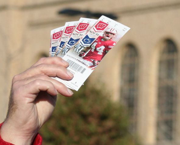 Badgers football tickets photo
