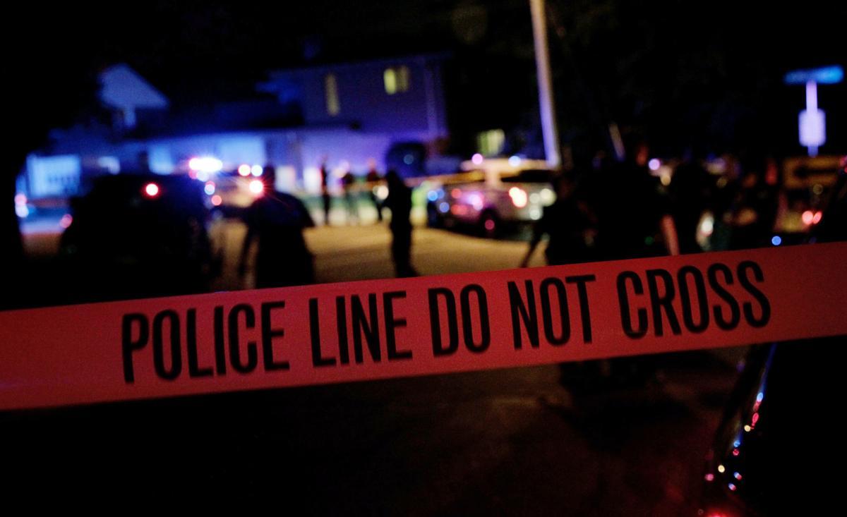Madison police crime scene tape