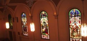 Chapel of the Archangels - Stained Glass Windows