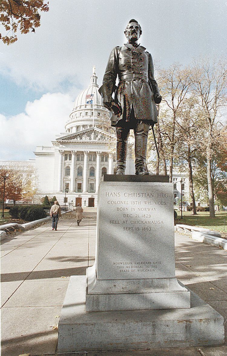 Statue in 1997