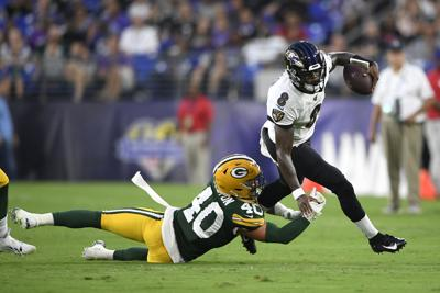 Packers Ravens Football