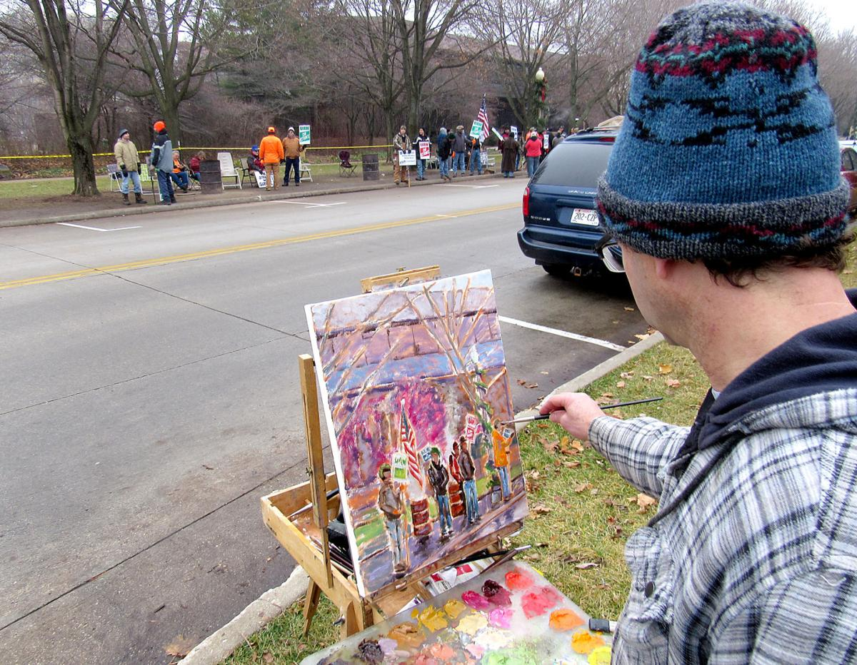 On Wisconsin: Kohler strike over but recorded on canvas | Local News ...