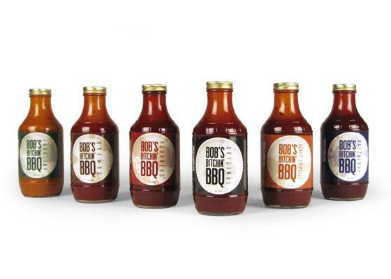 Bob's Bitchin' BBQ sauces