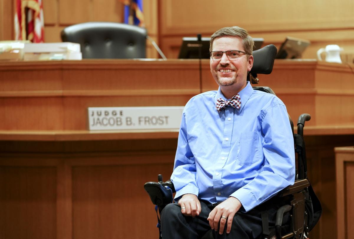 Dane County Circuit Judge Jacob Frost
