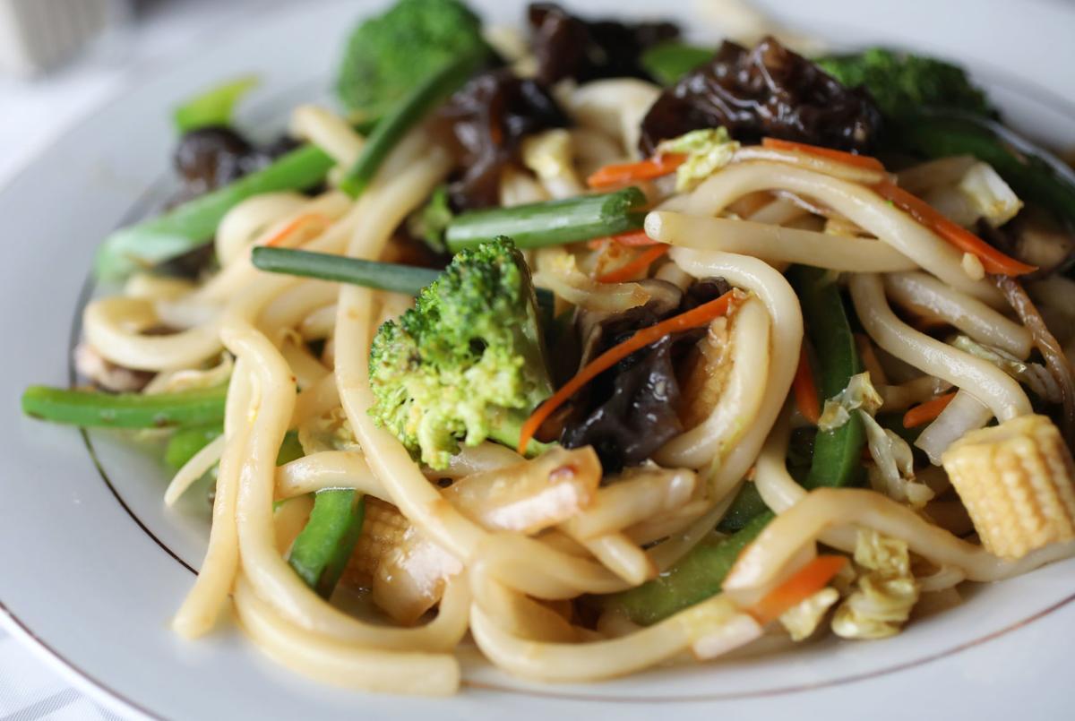 Pho King Good vegetable udon