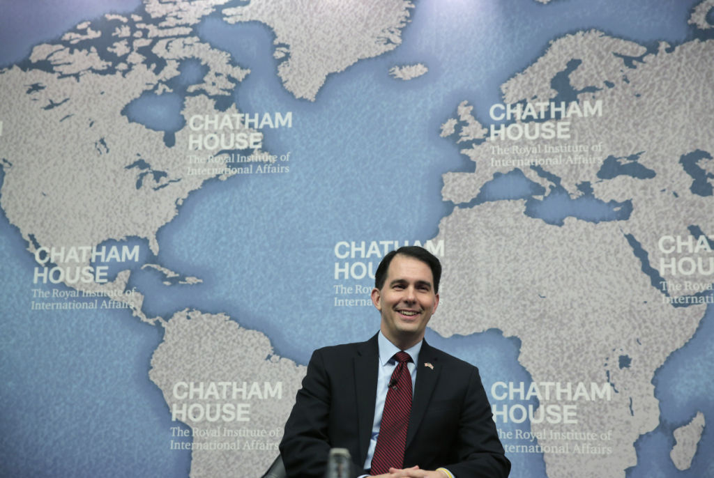 Gov. Scott Walker announces trade mission to Canada