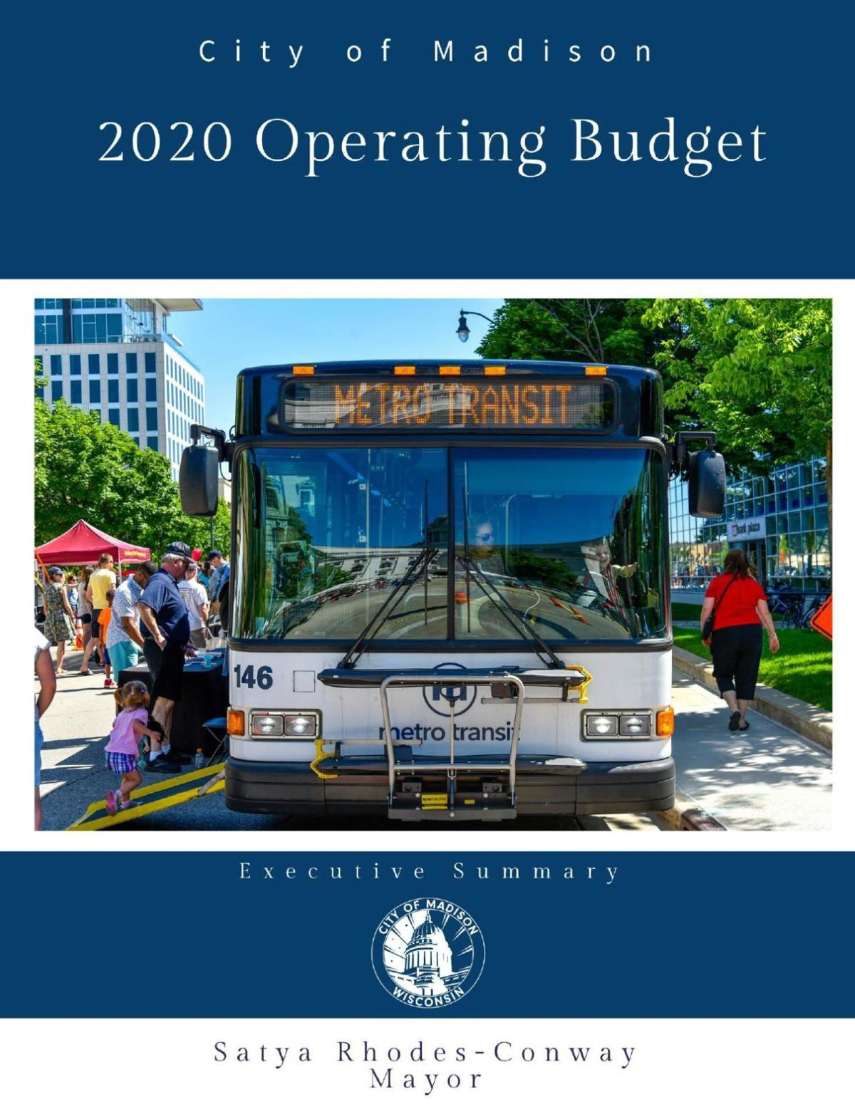 2020 budget executive summary