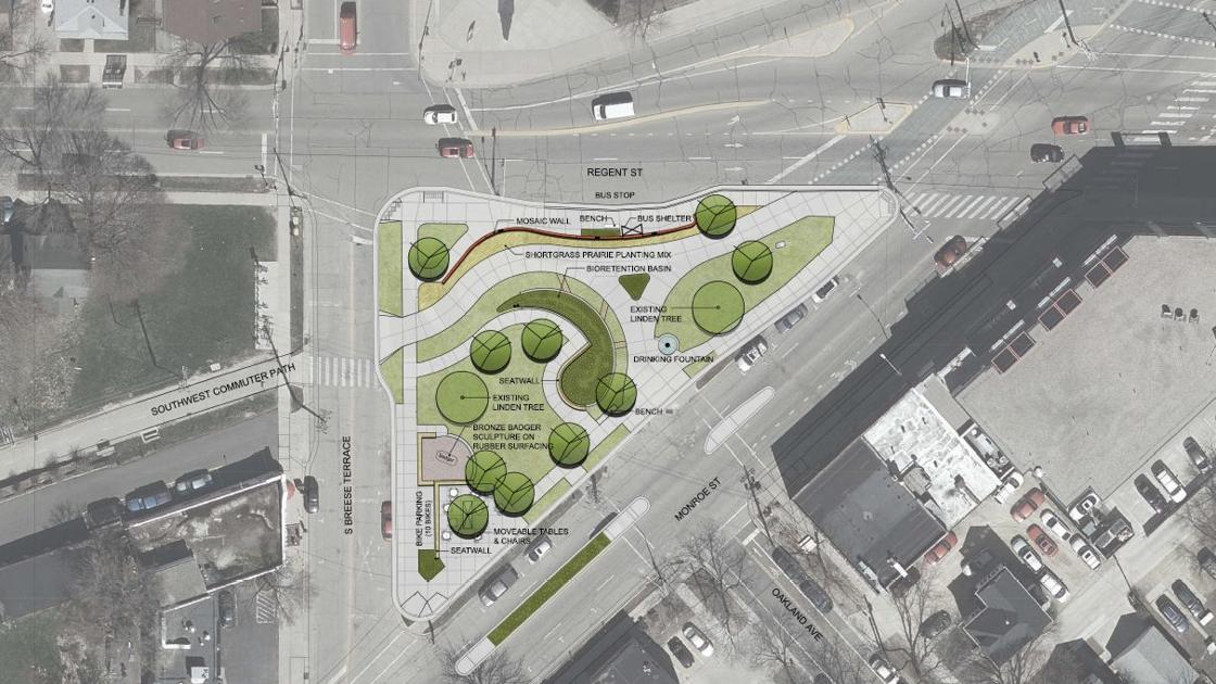 Wingra Park And Camp Randall Public >> Unused Monroe Street Crazylegs Triangle Will Become Green Mini