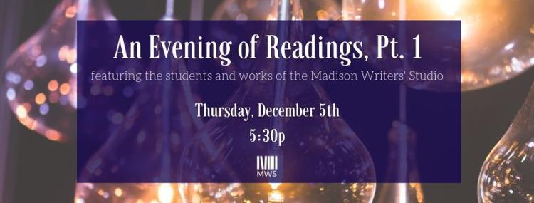 An Evening of Readings, Pt. 1