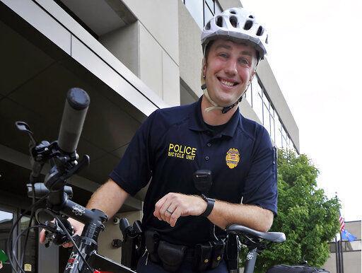 Kenosha officer Rusten Sheskey, Kenosha News photo