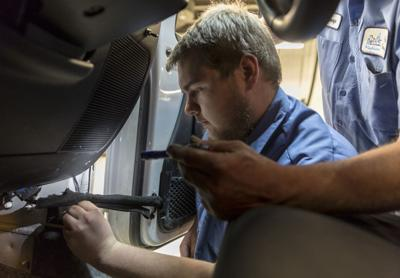 Madison students get hands-on experience working on city vehicles (copy)