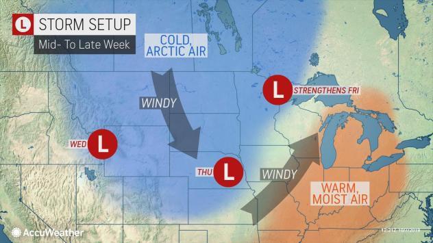 AccuWeather storm forecast 10-9-19