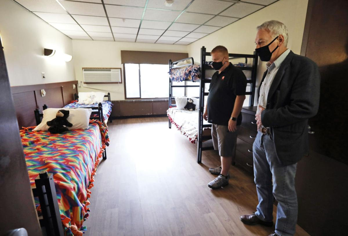 Homeless shelter - room