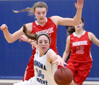 Prep girls basketball photo: Monona Grove's McKenna Warnock