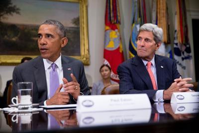 Barack Obama, John Kerry