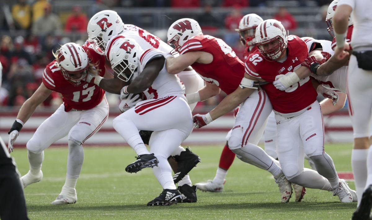 Wisconsin defense vs. Rutgers