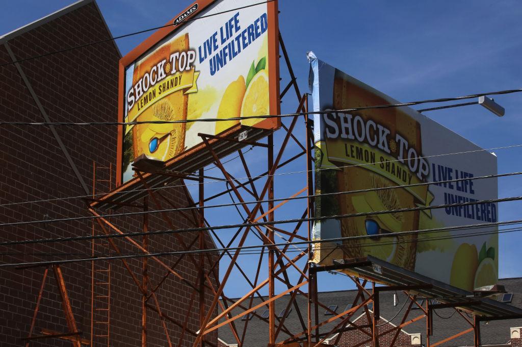Billboard on Regent Street
