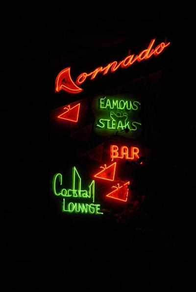 Tornado Club sign