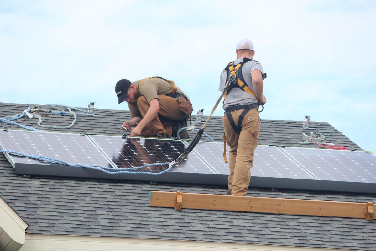 Madison solar installation