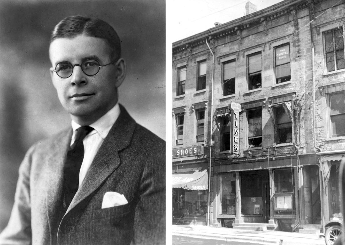 William T. Evjue and King Street office