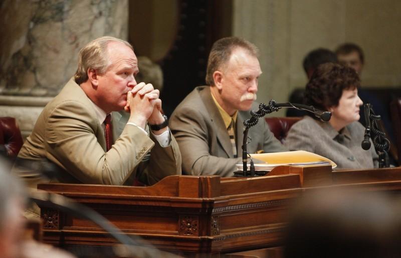 Dale Schultz file mining story 2/15/12