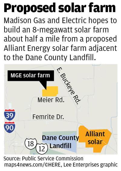 MGE proposes 8MW solar farm