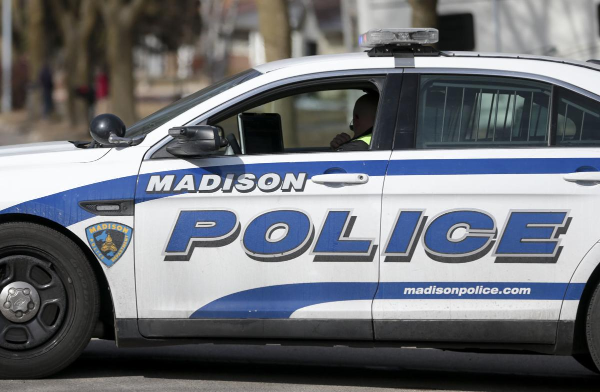 Madison police squad car, State Journal generic file photo