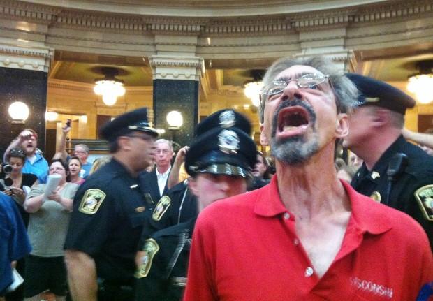 Protest arrests