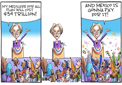 ANOTHER VIEW   DAVE WHAMOND, CAGLE CARTOONS