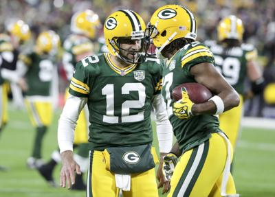 While Aaron Rodgers hopes to lose brace 60871195c
